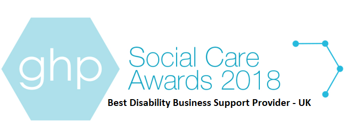 Social Care Award 2018 for Best Disability Business Support Provider